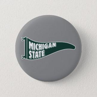 MSU Spartans | Universiteit van de Staat van Ronde Button 5,7 Cm