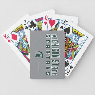 MSU Wimpel | Universiteit van de Staat van Poker Kaarten