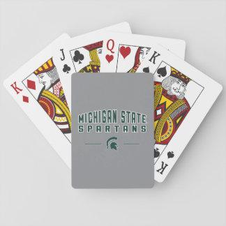 MSU Wimpel | Universiteit van de Staat van Pokerkaarten