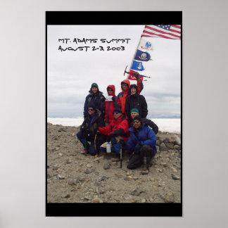 Mt. Adams Top Poster