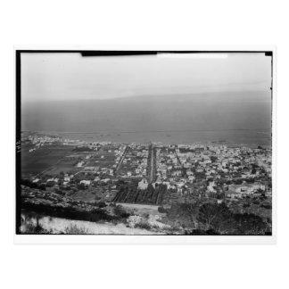 Mt. Carmel, Haifa, ca. 1922 Briefkaart