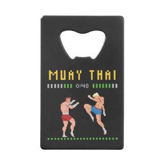 Muay met 8 bits Thai Creditkaart Flessenopener