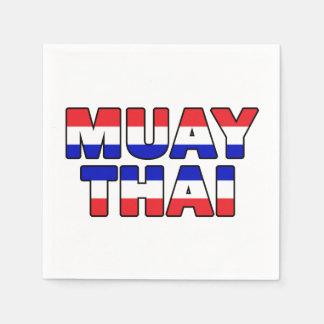 Muay Thai Wegwerp Servetten