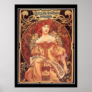 Mucha van Alphons van het Poster van Amatller van