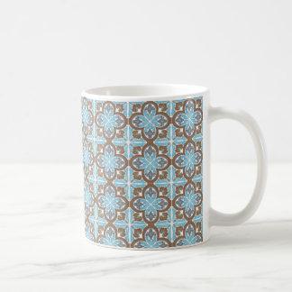 mug azulejos bloem koffiemok