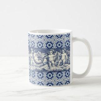 mug azulejos engel koffiemok