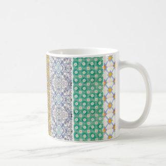 mug azulejos kleurkrijtje koffiemok