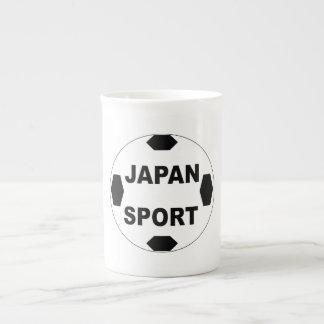 MUG PORSELEIN   JAPAN SPORT THEEKOP