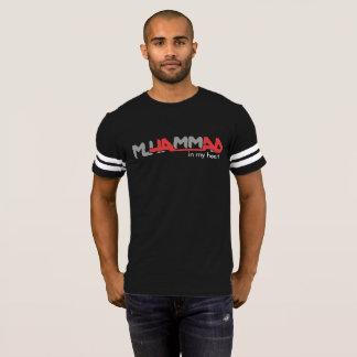 Muhammad in mijn hart voetbal shirt