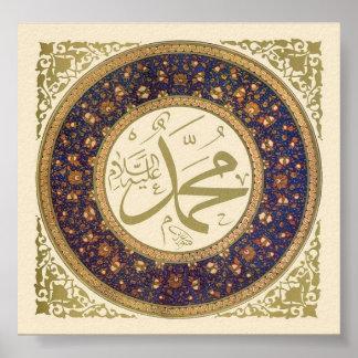 Muhammad (zagen) poster