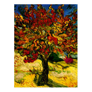 Mulberry Tree Van Gogh Fine Art. Briefkaart