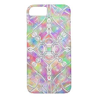 multi de kleuren kleurrijke helder van het jaren iPhone 8/7 hoesje