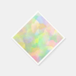 Multi Pastelkleuren Papieren Servet