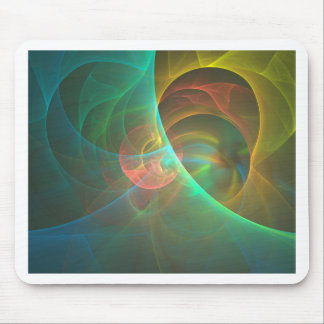 Multicolored abstracte fractal muismatten