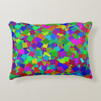 Multicolored confettien - decoratief kussen
