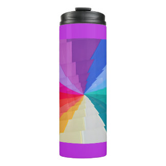 multicolored draaikolk onl Thermische Thermosbeker