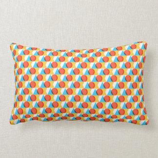Multicolored Geometrische Patroon van Vormen Lumbar Kussen