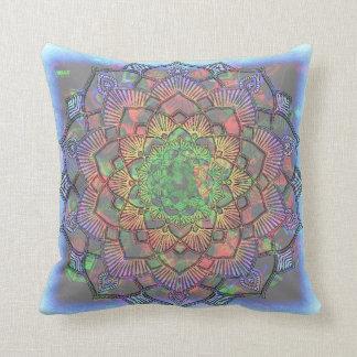 Multicolored ploeter Waterverf Mandala Sierkussen