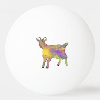 Multicoloured Grappige Ontwerp van de Kunst van de Pingpongbal