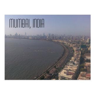Mumbai, het Briefkaart van India