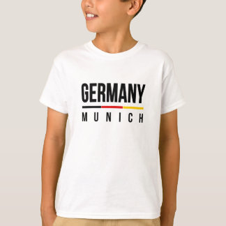 München Duitsland T Shirt