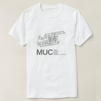 München Franz Josef International Airport T Shirt
