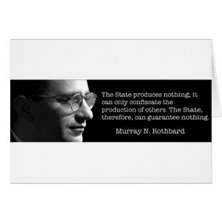 Murray Rothbard Kaart