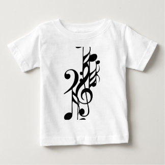 Musical_notes Baby T Shirts
