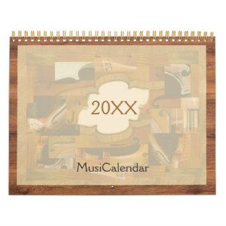 MusiCalendar 2017, de Illustraties van de Kalender