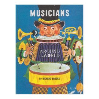 Musici rond de Wereld Briefkaart