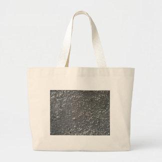 Muur van grijs cement met een ruwe oppervlakte jumbo draagtas