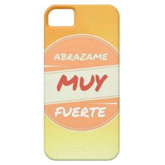 Muy fuerte van Abrazame Barely There iPhone 5 Hoesje