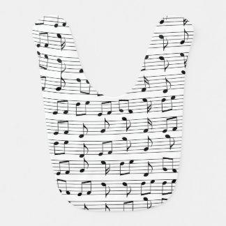 Muziek Baby Slabbetje
