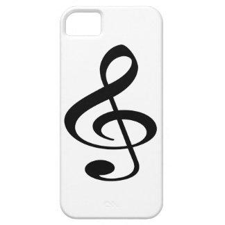 Muziek Barely There iPhone 5 Hoesje