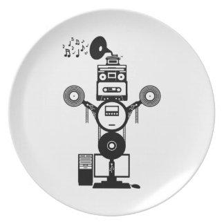 Muziek Bot Melamine+bord