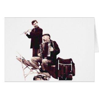 Muziek - de Musici van de Straat Briefkaarten 0