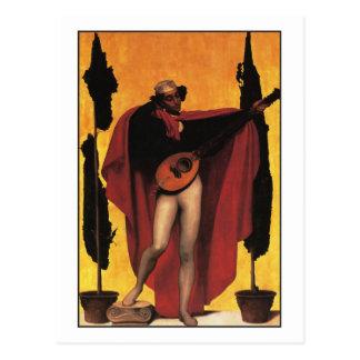 Muziek door Frederic Leighton Briefkaart