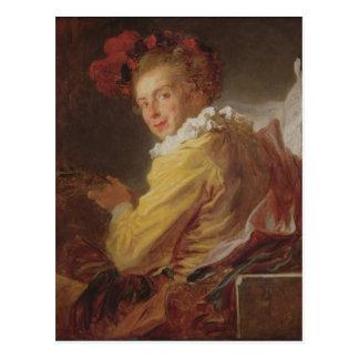 Muziek, een portret van Monsieur DE La Breteche Briefkaart