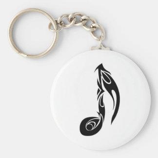 muziek nota sleutelhanger