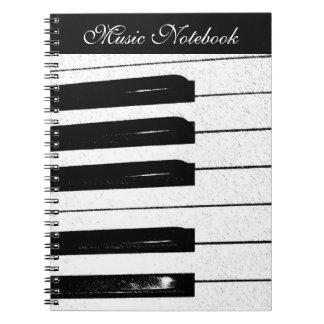Muziek Notitieboek