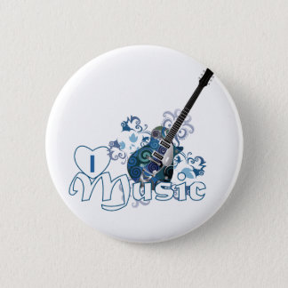 Muziek Ronde Button 5,7 Cm