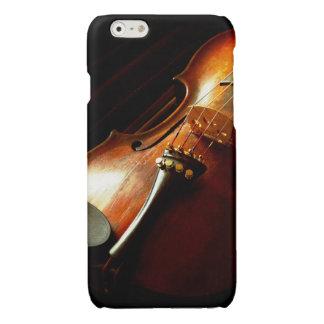 Muziek - Viool - de schrijvers uit de klassieke Glossy iPhone 6 Hoesje