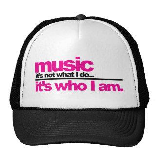 Muziek - Who ben ik Trucker Cap
