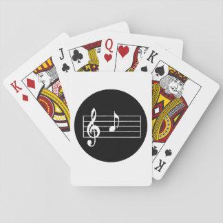 Muzieknoot A Speelkaarten