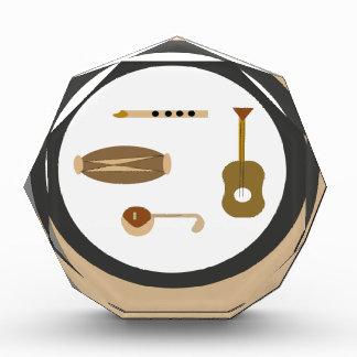muzikale instrumenten acryl prijs