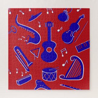 Muzikale Instrumenten Legpuzzel