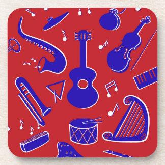 Muzikale Instrumenten Onderzetter