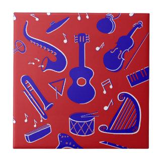 Muzikale Instrumenten Tegeltje