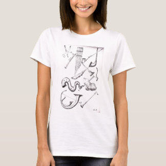 muzikale wind instruments3 t shirt