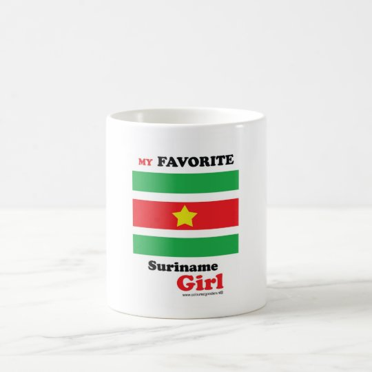 My Favorite Suriname Girl Koffiemok